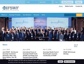 ifswf.org screenshot