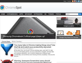 Thumbshot of Chromespot.com