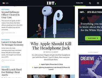 Thumbshot of Ibtimes.com