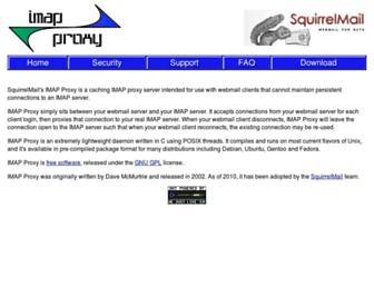 imapproxy.org screenshot