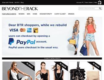 Thumbshot of Beyondtherack.com