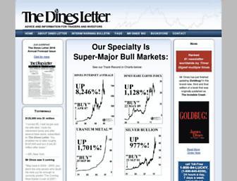 dinesletter.com screenshot