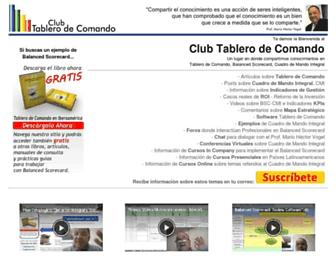tablero-decomando.com screenshot