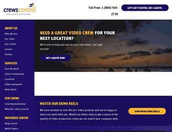 crewscontrol.com screenshot