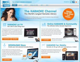 Thumbshot of Thekaraokechannel.com
