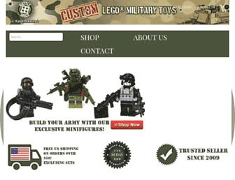 battlebrickcustoms.com screenshot