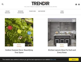 trendir.com screenshot