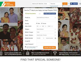 Thumbshot of Tamilmatrimony.com