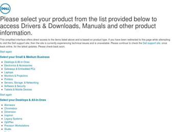 downloads.dell.com screenshot
