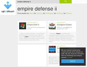 empire-defense-ii.en.uptodown.com screenshot