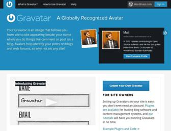 Thumbshot of Gravatar.com