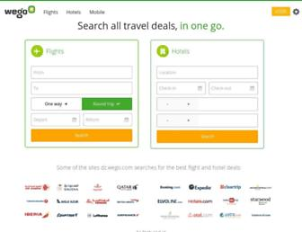 dz.wego.com screenshot