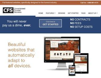 Thumbshot of Funeralhomewebhosting.com