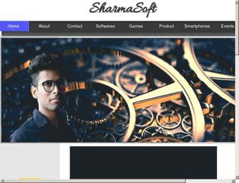 sharmasoft.co screenshot