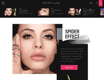 Thumbshot of Maybelline.com