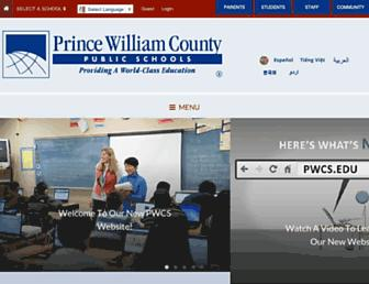 Thumbshot of Pwcs.edu