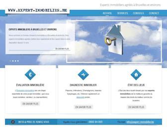 expert-immobilier.be screenshot