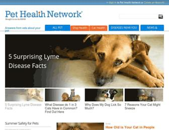 pethealthnetwork.com screenshot