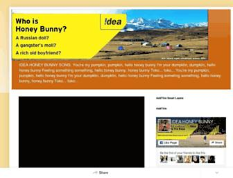 honeybunnyidea.blogspot.com screenshot