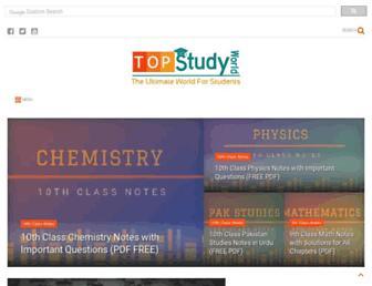 topstudyworld.com screenshot