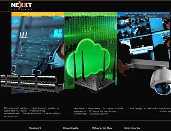 nexxtsolutions.com screenshot