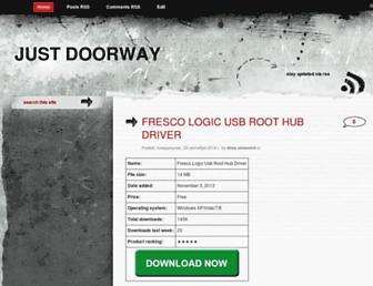 justdoorway.blogspot.com screenshot