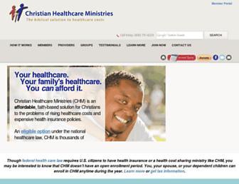 chministries.org screenshot