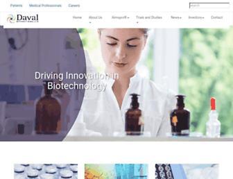 davalinternational.com screenshot