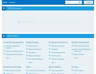 manualzilla.com screenshot