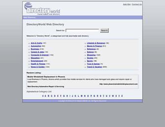 Thumbshot of Directoryworld.net