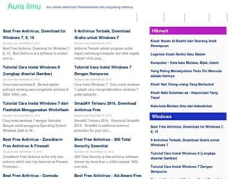 aura-ilmu.com screenshot