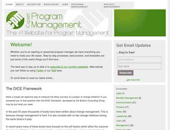 expertprogrammanagement.com screenshot
