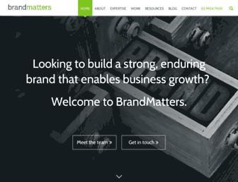brandmatters.com.au screenshot