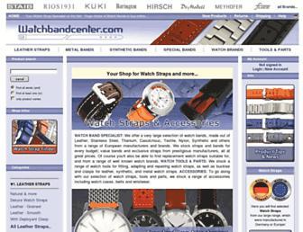 Thumbshot of Watch-band-center.com