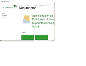 docs.supersalud.gov.co screenshot