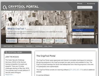 cryptool.org screenshot