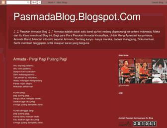 pasmadablog.blogspot.com screenshot