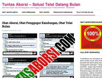 tuntasaborsi.com screenshot