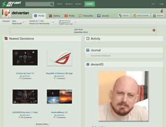 deivantan.deviantart.com screenshot