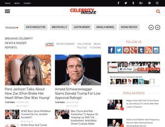 celebrityinsider.org screenshot