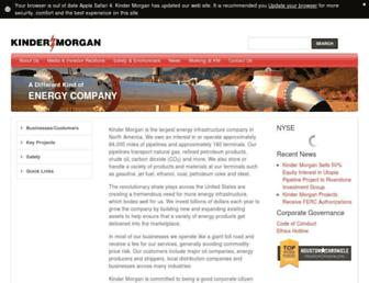Thumbshot of Kindermorgan.com