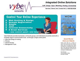 Main page screenshot of vex.net
