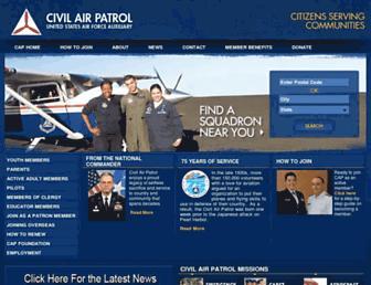 gocivilairpatrol.com screenshot