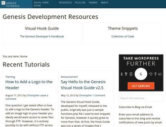 Thumbshot of Genesistutorials.com