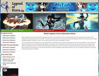 Thumbshot of Legendofkorra.tv