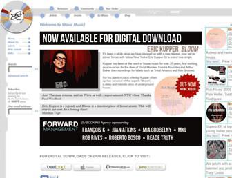 wavemusic.com screenshot