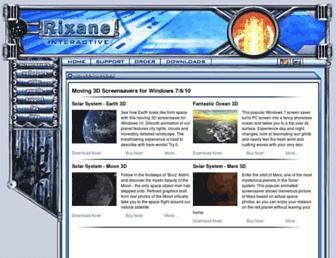 rixane.com screenshot