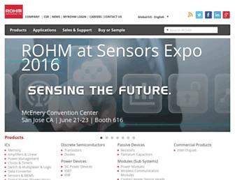rohm.com screenshot