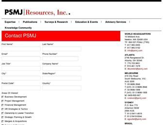 go.psmj.com screenshot