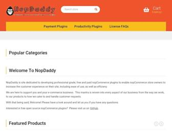 nopdaddy.com screenshot